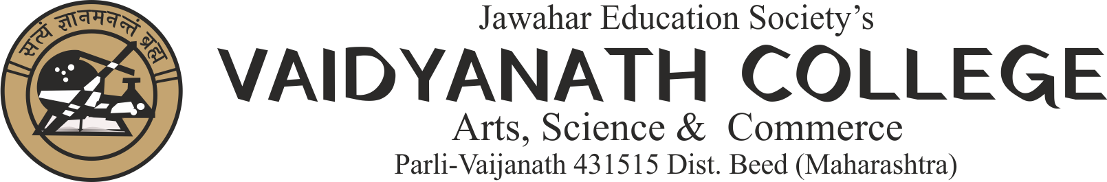 Vaidyanath College Art, Science & Commerce Parli vaijanath | Jawahar Education Society's