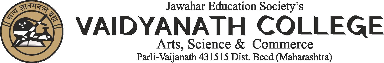 Vaidyanath College Art, Science & Commerce Parli vaijanath | Jawahar Education Society's
